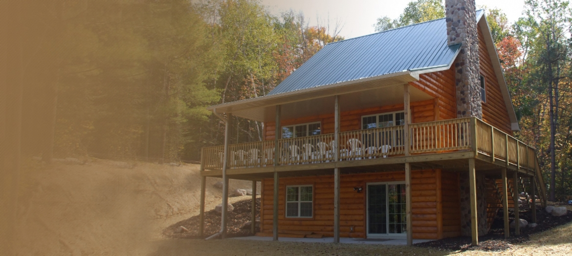 Custom and factory built cottages and vacation homes for Custom cottage homes