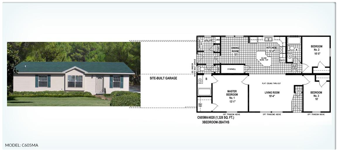 Floor Plans For Skyline Mobile Homes