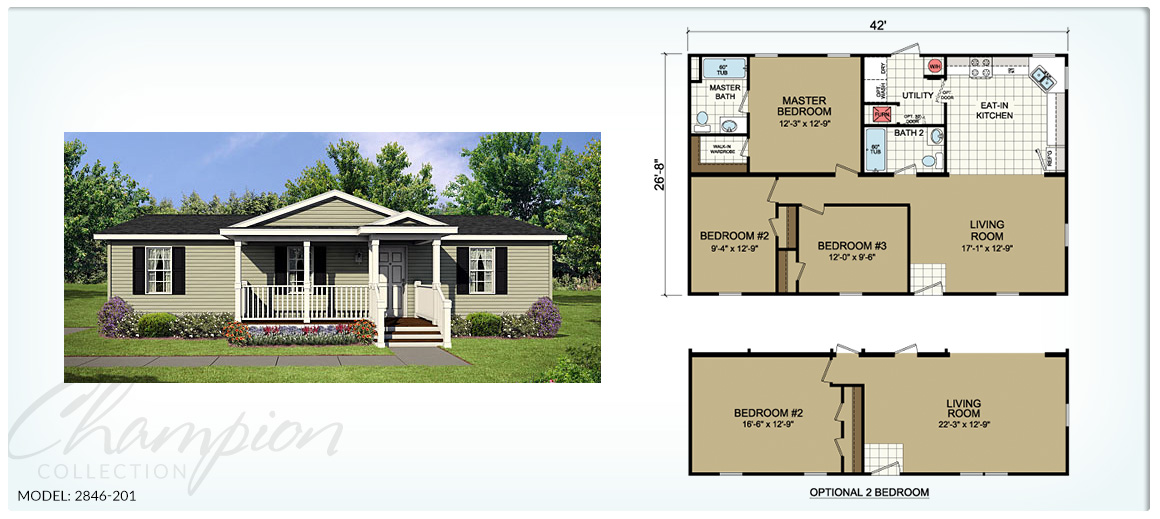 Champion Homes Series Green Bay Manufactured Homes – Champion Manufactured Home Floor Plans